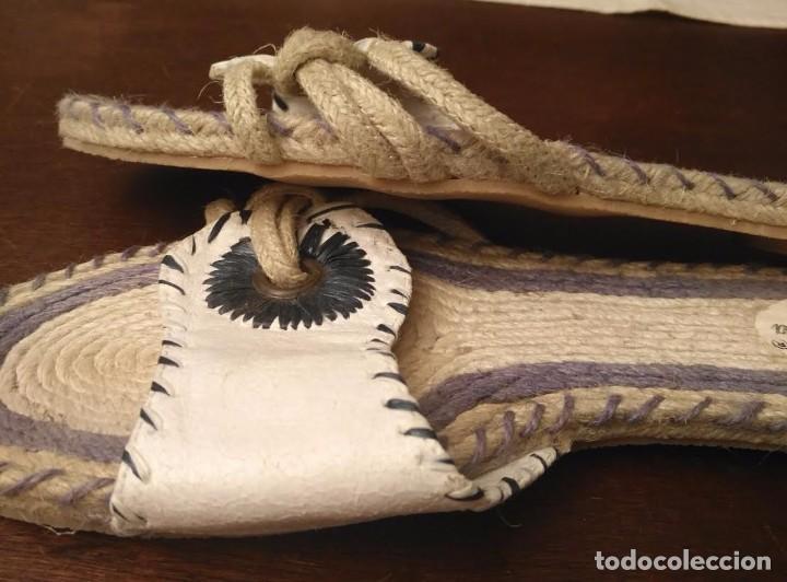 Artesanía: S 29 Sandalias planas - esparto, piel y goma - Amelia Zaragora - N 40 - Foto 6 - 89459708