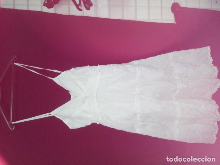 Artesanía: Vestido de algodón ibicenco nuevo a estrenar - Foto 2 - 179217318
