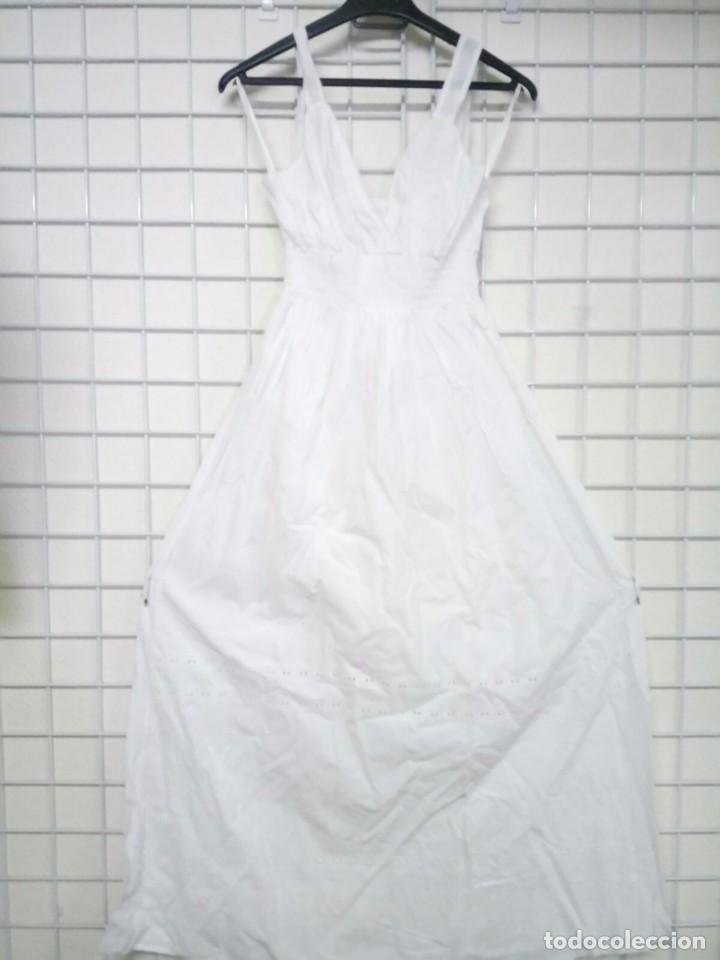 Artesanía: Vestido de algodón ibicenco nuevo a estrenar - Foto 3 - 179217318
