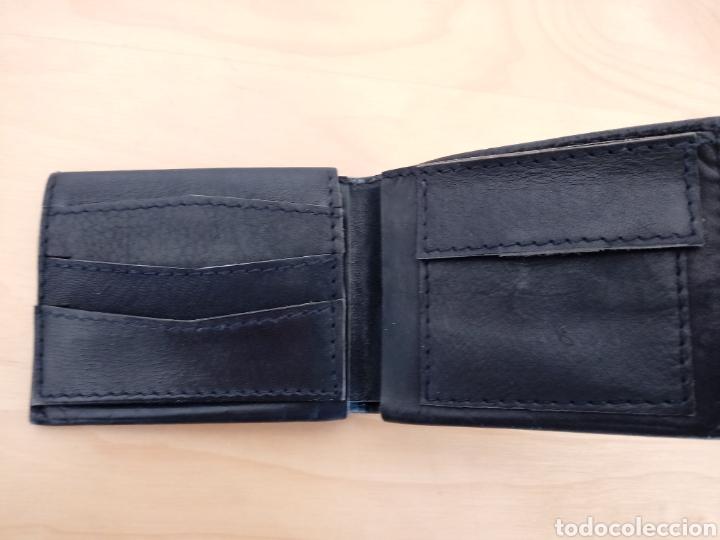 Artesanía: Cartera para caballero o billetera de cuero negro. Artesanía de Cuba - Foto 2 - 105895939