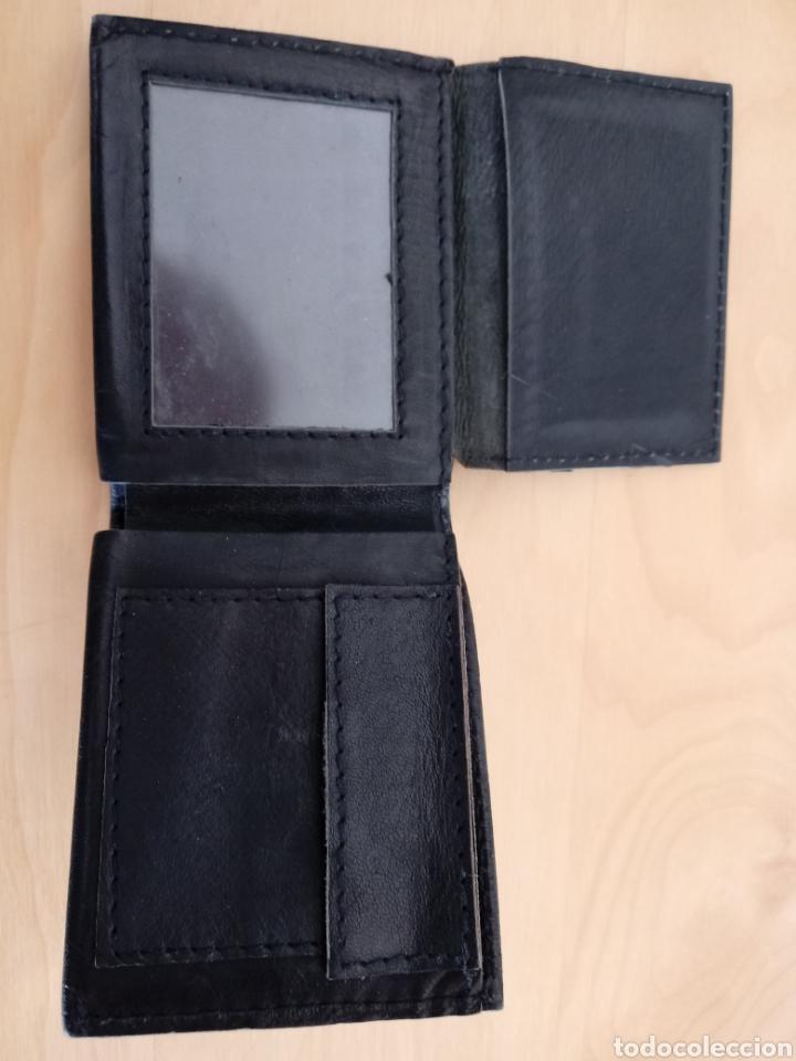 Artesanía: Cartera para caballero o billetera de cuero negro. Artesanía de Cuba - Foto 3 - 105895939