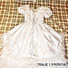 Artesanía: DOS TRAJES DE NOVIA. Lote 108294487