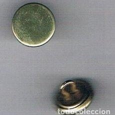 Artesanía: BOTONES DORADOS CON GANCHO. Lote 109299315
