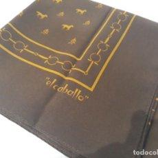 Artesanía: PAÑUELO DE LA FIRMA , EL CABALLO. Lote 112897995