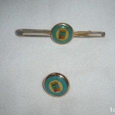 Artesanía: SUJETACORBATAS Y PIN C.T.A - A.P.. Lote 114206863