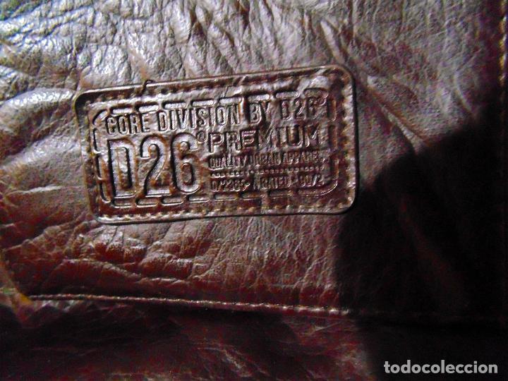 Artesanía: BONITO BOLSO DE MUJER DE PIEL MARRON MARCA - CORE DIVISION BY D26- PREMIUM-TAMAÑO 34X35X15 CMS - Foto 3 - 118789535