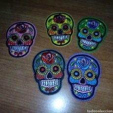 Artesanía: PARCHES TERMOADHESIVOS CARABELAS MEXICO LOTE 5. Lote 121357920