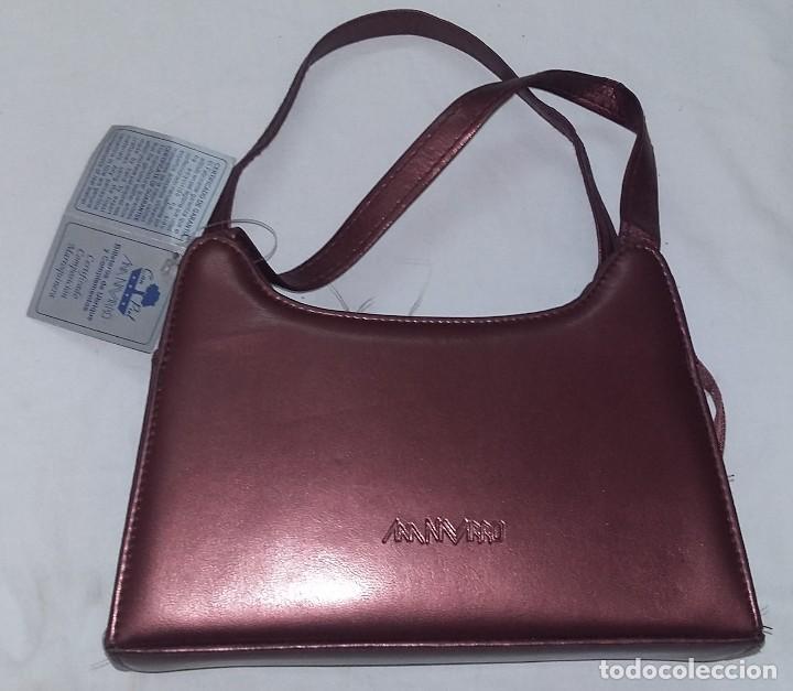 Artesanía: Bolso de fiesta color cobre con asas - Foto 2 - 128140327