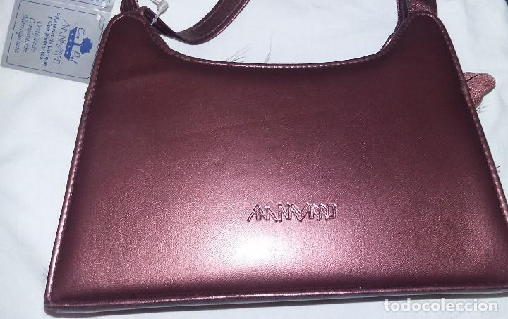 Artesanía: Bolso de fiesta color cobre con asas - Foto 3 - 128140327