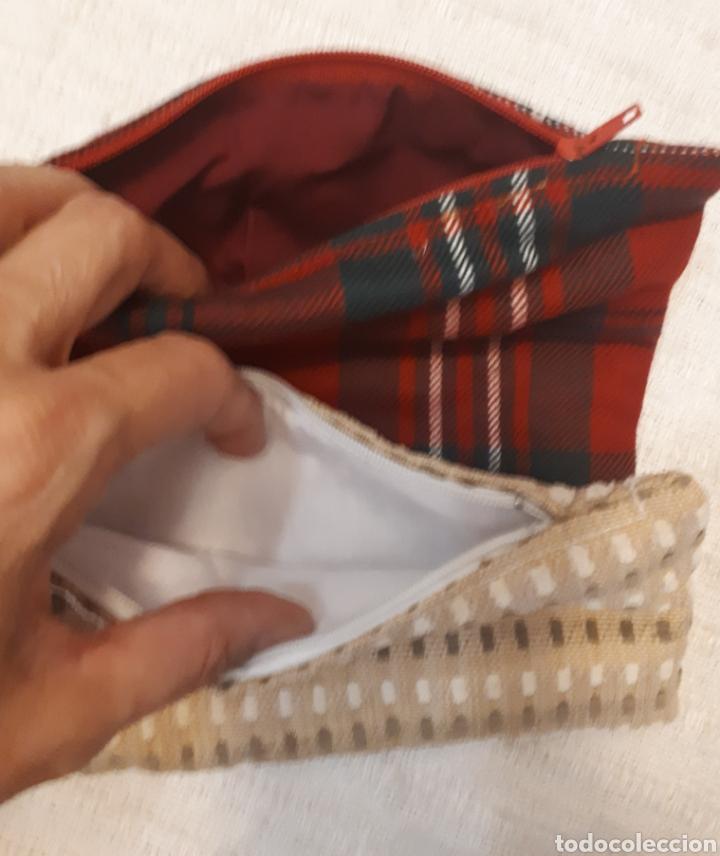 Artesanía: Estuche con cremallera tela 2 modelos a elegir - Foto 3 - 131867082