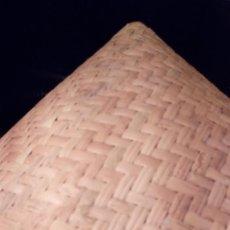 Artesanía: SOMBRERO TRADICIONAL CÓNICO. ASIA. SEGUNDA MITAD DEL S. XX.. Lote 135606538