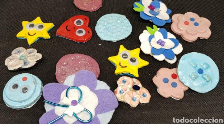 Artesanía: Lote de 75 broches artesanales- car120 - Foto 2 - 137820133