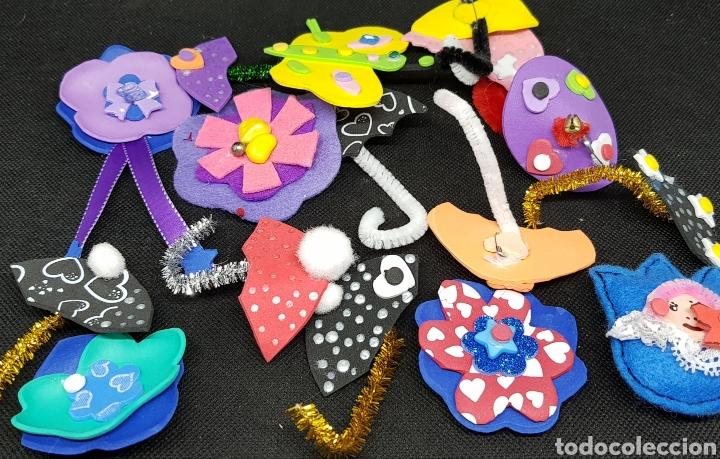 Artesanía: Lote de 75 broches artesanales- car120 - Foto 6 - 137820133