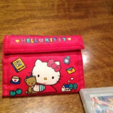 Artesanía: CARTERA BILLETERA HELLO KITTY. Lote 137850674