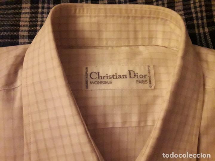 Artesanía: Camisa hombre Christian Dior 42/43. - Foto 2 - 138817890