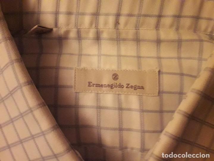 Artesanía: Camisa Ermenegildo Zegna hombre. Talla 43/17 - Foto 2 - 138818398