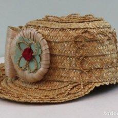 Handicraft - Sombrero de mujer,artesanía,de cáñamo,traje regional abulense - 139101698