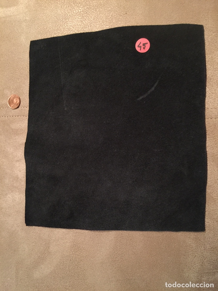 Artesanía: Parche de cuero (piel) pintado a mano. Está barnizado y se puede mojar. Iron Maiden - Foto 2 - 140635633
