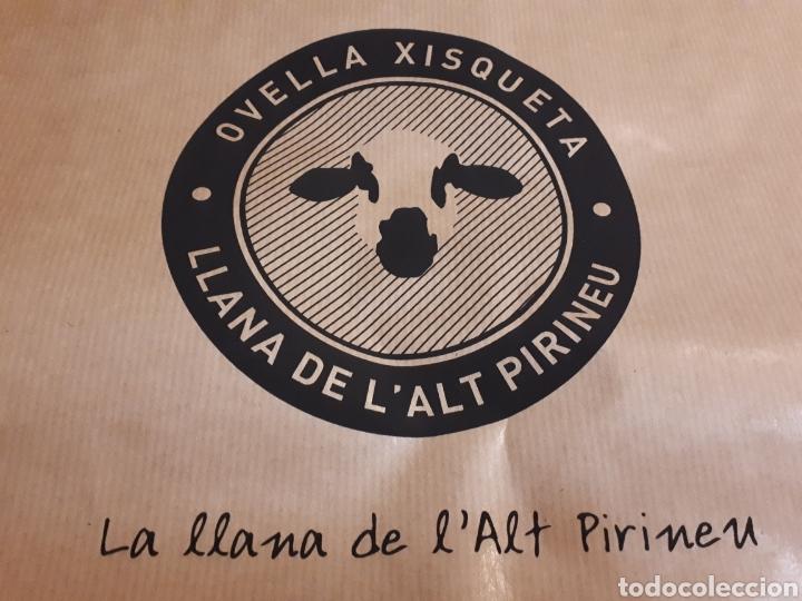 Artesanía: Jersey unisex 100% lana natural oveja xisqueta Pirineus jacquard rayas y estrellas - Foto 6 - 232479525