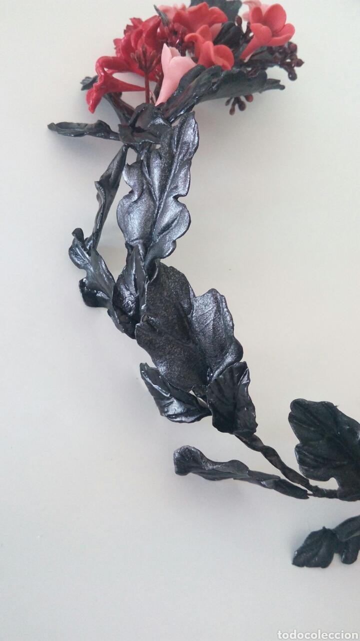 Artesanía: Tocado de porcelana fria - Foto 3 - 141970197