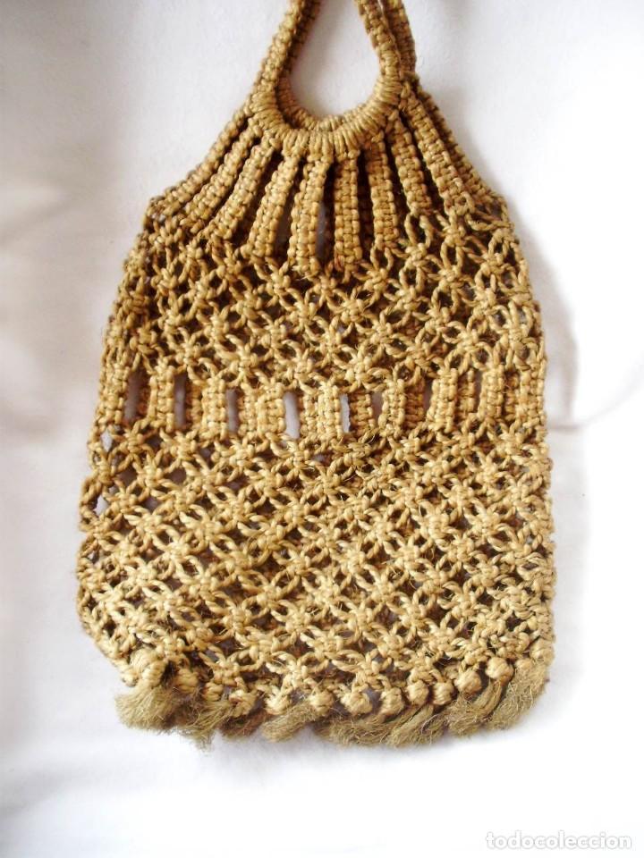 Artesanía: Bolsas Vintage Macrame con cuerda - Foto 2 - 145522382