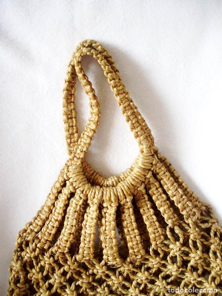Artesanía: Bolsas Vintage Macrame con cuerda - Foto 3 - 145522382