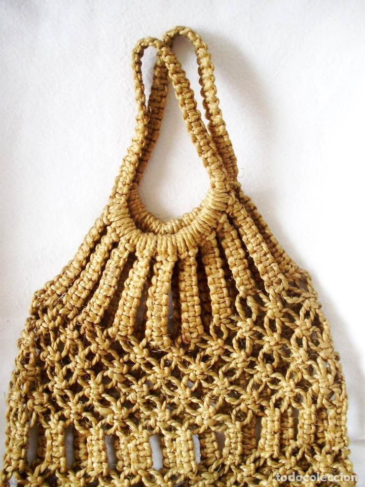 Artesanía: Bolsas Vintage Macrame con cuerda - Foto 4 - 145522382
