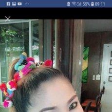 Artesanía: ATADURA GOMA HECHA POR TRIBU EN NORTE TAILANDESA PARA PELO, ETC.. Lote 149045954
