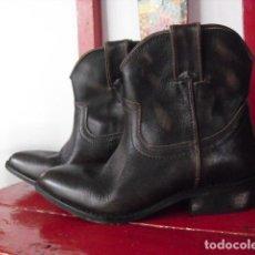 Artesanía: BOTAS TIPO COWBOY EN PIEL DE MANGO. TALLA 37.. Lote 150019298