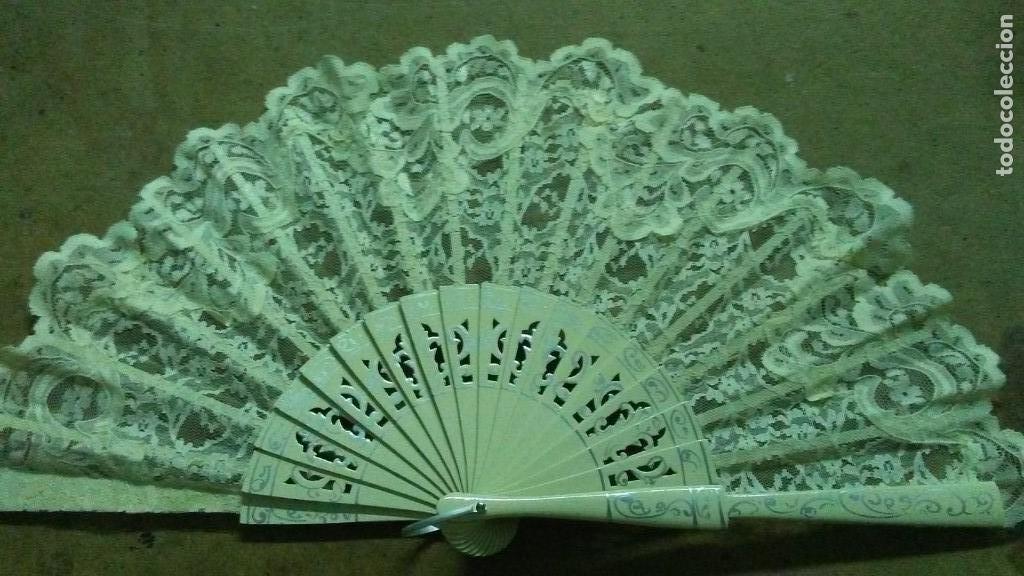 Artesanía: Abanico artesano de novia o ceremonia - Foto 2 - 173647719