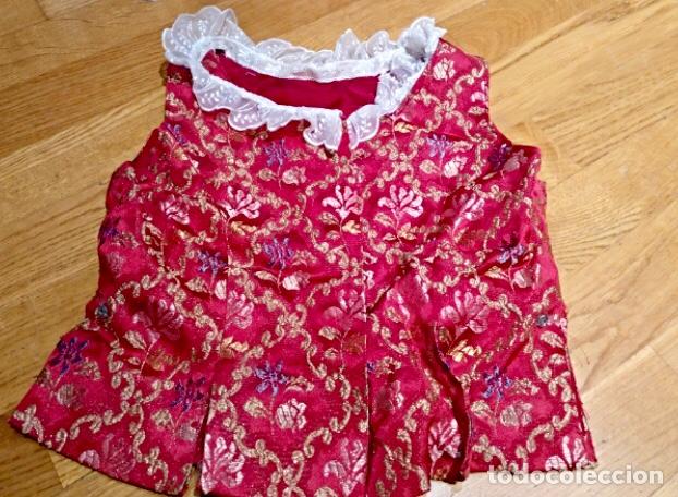 Artesanía: Indumentaria valenciana fallera. Falda corpiño y camisa. Niña. Vestido fallera - Foto 5 - 114842947
