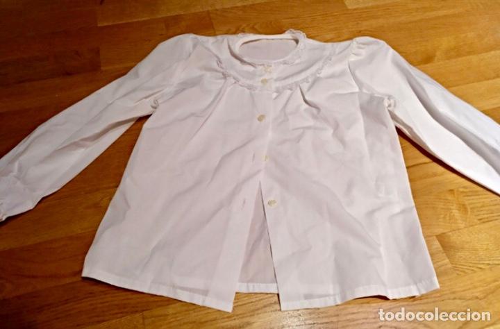 Artesanía: Indumentaria valenciana fallera. Falda corpiño y camisa. Niña. Vestido fallera - Foto 8 - 114842947