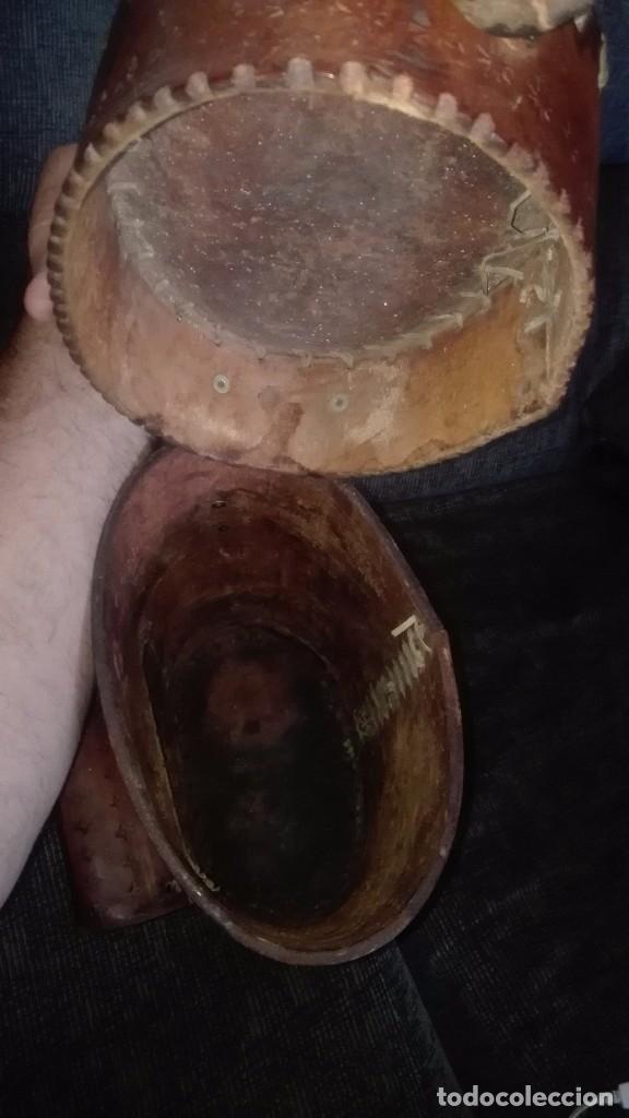 Artesanía: Mochila de cuero artesanal.Salinas(Peru) - Foto 3 - 168948184