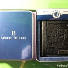 Artesanía: BILLETERA GENUINA. MIGUEL BELLIDO. Lote 173939355