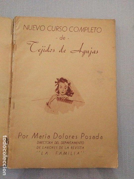 Artesanía: Segundo Curso Completo de Tejidos de Agujas. María Dolores Posada. 1944 - Foto 5 - 174090660
