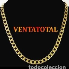 Artesanía: CADENA VINTAGE DE ORO AMARILLO DE 18 KILATES LAMINADO - MIDE 63 X 6 CM PESA 36 GRAMOS APROXIMADONº64. Lote 175857453