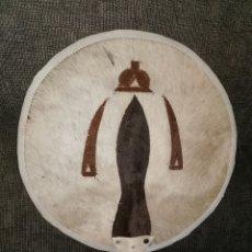 Artesanía: ABANICO-CETRO CENTROAFRICANO. PIEL DE VACA.. Lote 183363141