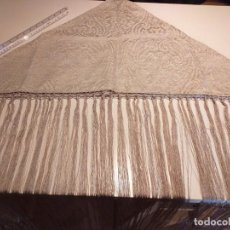 Artesanía: MANTON BROCADO FLEQUEADO. Lote 194195751