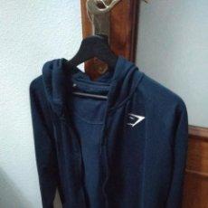 Artesanía: SUDADERA GYMSHARK ARK ZIP HOODIE - SAPPHIRE BLUE. Lote 194909066