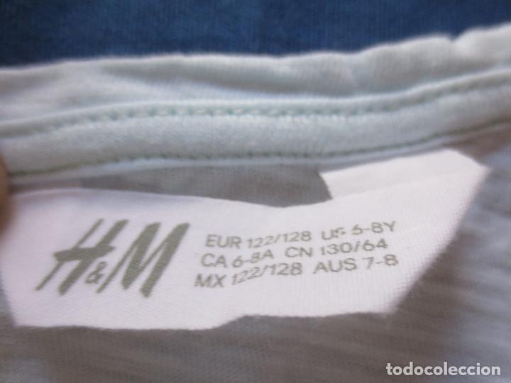 Artesanía: CAMISETA PARA NIÑA 100% ALGODÓN CON LENTEJUELAS H&M / DE 6 A 8 AÑOS. - Foto 4 - 195172846