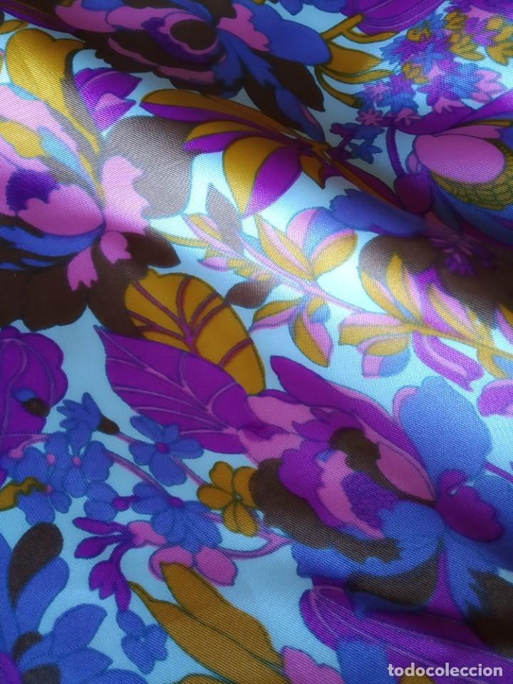 Artesanía: Bolsa de tela sesentera.Elaboracion propia. Modelo exclusivo. Nuevo - Foto 2 - 202683372