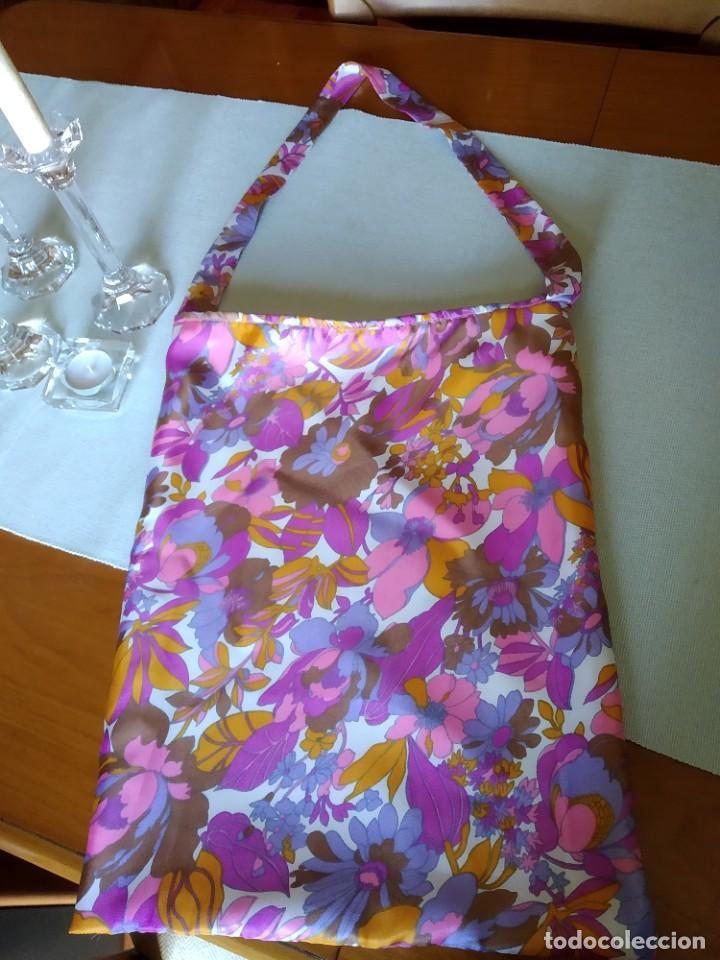 Artesanía: Bolsa de tela sesentera.Elaboracion propia. Modelo exclusivo. Nuevo - Foto 4 - 202683372
