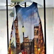 Artesanía: VESTIDO LONDRES TALLA XL. Lote 207973422