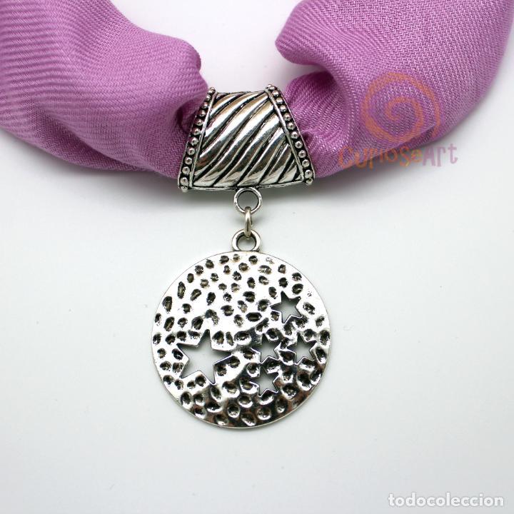 Artesanía: Colgante artesanal para fular y pañuelos 4 modelos a escoger - Foto 4 - 160346042