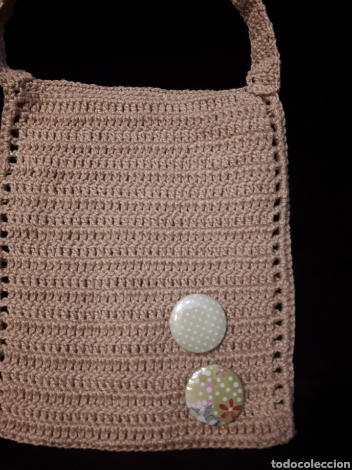 Artesanía: Bolso pequeño porta móvil ganchillo artesanal. Varios modelos a elegir. - Foto 7 - 235336580