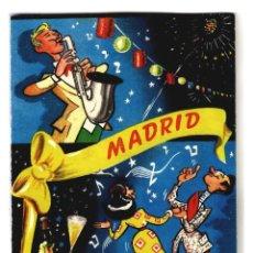 Artesanía: MADRID - PAÑUELO SOUVENIR EN SU ESTUCHE DE CARTÓN - 168X120 - AÑOS 50? - INÉDITO EN TODOCOLECCIÓN. Lote 243408320