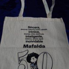 Artigianato: BOLSA * MAFALDA * 50 ANIVERSARIO AÑO 2014 - EN TELA. Lote 259865540