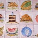 Artesanía: PANEL DE 12 AZULEJOS PINTADOS A MANO. Lote 5122839