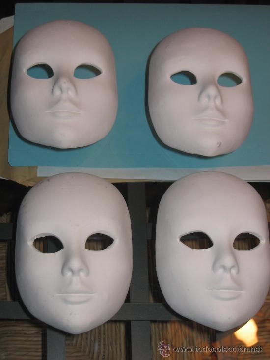 4 mascaras venecianas para decorar Comprar Artesana en