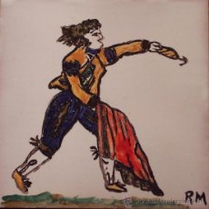 Artesanía - OFICIOS MEDIEVALES. TORERO. Pintado a mano - 12370153